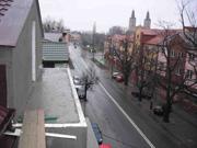 Widok na Al. Jana Pawła II z mieszkań I etapu